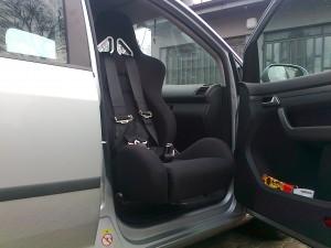VW Touran fotel WRX