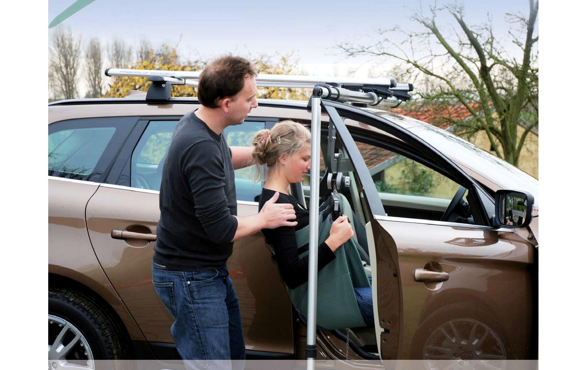 Tylko na zewnątrz Samochody typu VAN | Adaptacja – przystosowanie samochodu dla osób EV05